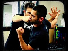 Krav Maga : How to Defend Against A Straight Punch in a Street Fight - S...
