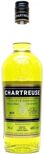 Yellow #chartreuse - pre 2007 #label #liqueur