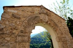 Holy Door of Rivodutri, Rieti, Italy. - Many researchers have investigated the symbolic meanings of the fine sculptures on the door, but there is still an air of mystery as to the meaning of the reliefs.