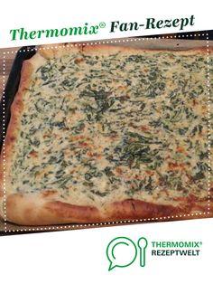 Spinatkuchen , Spinat Pizza  von cristoph1977. Ein Thermomix ® Rezept aus der Kategorie Backen herzhaft auf www.rezeptwelt.de, der Thermomix ® Community.