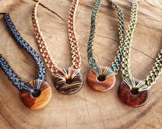 Your place to buy and sell all things handmade Hemp Necklace, Wooden Necklace, Beaded Necklace, Macrame Wall Hanging Diy, Le Cordon, Jewelry Making Tutorials, Macrame Jewelry, Stone Bracelet, Handmade Necklaces