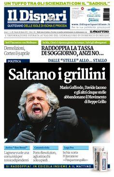 La copertina del 28 marzo 2015 #ischia #ildispari
