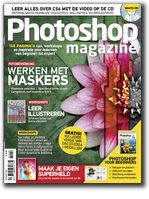 Dutch magazine loaded with workshops, background stories, tips and inspiration for using the Adobe Photoshop software. In Photoshop Magazine you will find an interesting mix of workshops for starters and experienced users, reviews of new digital cameras, scanners, printers, grafical tablets and creative software.