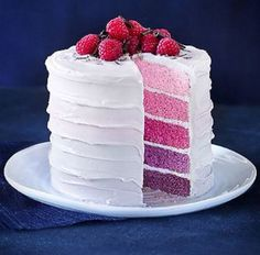 Berry Ombré Layer Cake
