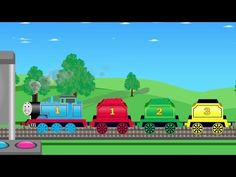 Learn Numbers With Thomas Train - Video Learning For Kids - YouTube