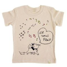 THE ARiSTOCATS TEE ORGANiC - MARiE-Siil vous Plait