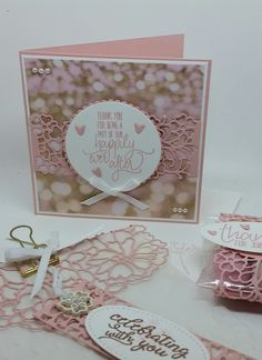 Stampin' Up! Demonstrator stampwithpeg : Pootlers Spring/Summer Catalogue Launch Blog Hop : Falling in Love & All Things Thanks – Wedding Favours I am very excited to be part of today&#82…