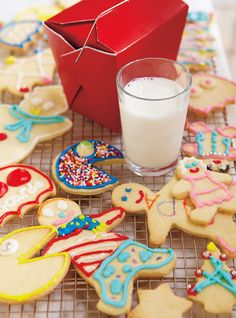 Ricardo& recipe: sugar Cookies for Frosting Sugar Frosting, Cookie Frosting, Royal Icing Cookies, Frosting Recipes, Best Sugar Cookies, No Bake Cookies, Holiday Cookies, Desserts With Biscuits, No Cook Desserts
