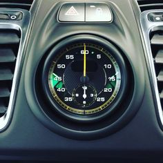 A little Porsche Cayman GT4 dial courtesy of Perfection Valet #Porsche