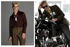 Rebel Neckwear: Oliver Stummvoll Accessorizes with GQ China