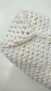 Virkattu vetoketjupussi + OHJE Knitted Hats, Knitting, Knit Hats, Tricot, Knit Caps, Cast On Knitting, Knits, Weaving, Crocheting