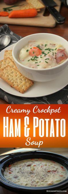 Creamy Crockpot Ham