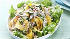 Würziger Hähnchensalat mit Mango |