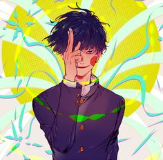 Mob Psycho 100 | Kageyama Ritsu and Dimple