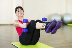 #Rutina de #ejercicios ideales para #principiantes sedentarios
