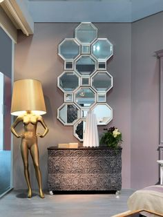 PANDORA Mirror by Bizzotto design Tiziano Bizzotto