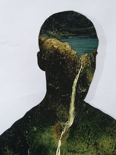 I'm an artist named Matt. This is a series of photography collage called Landscape. Photomontage, Digital Collage, Collage Art, Nature Collage, Collages, John Stezaker, Photoshop, Double Exposure, Sculpture