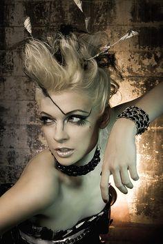 High Fashion Make-up by Cinema Makeup School