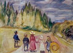 Edvard Munch: The Fairytale Forest, 1901–02.
