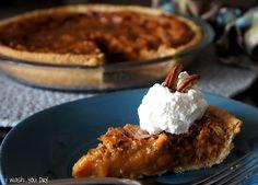 Caramel Pecan Pie - I Wash... You Dry