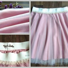 Tulle dresses and skirts
