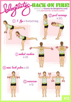 Back Exercises!