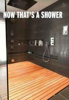 Love the floor in this shower. Love the whole shower!