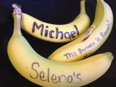 Day83: Write your name on a banana. That way no one will mistake it for their own. #Go366