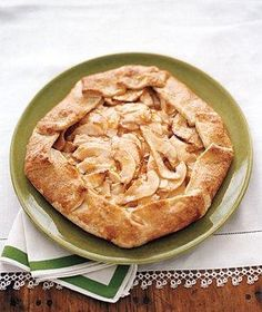 Apple-Pear Galette recipe