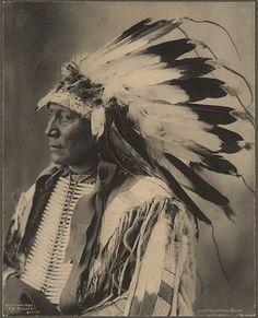 Chief Hollow Horn Bear, Sioux