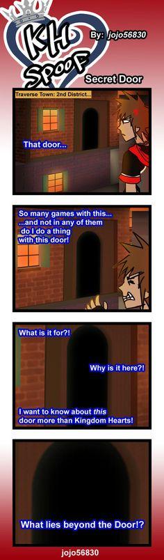 KH Spoof: secret door by jojo56830.deviantart.com on @deviantART
