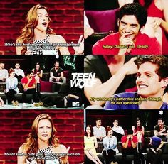 Daniel Sharman (Isaac Lahey) discusses how his lack of eyebrows made him the ugly werewolf of the pack. #TeenWolf #hilarious