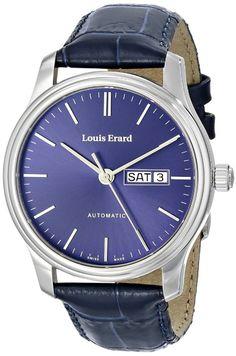 Men Watches : Louis Erard Heritage Men's Automatic-Self-Wind Watch