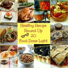 Healthy Recipe Round Up 20 www.fooddonelight.com #healthyrecipes
