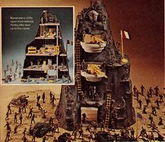 Marx Guns of Navarone Army Playset one of my favorite toys growing up as a kid! Would love to find this someday Childhood Toys, Childhood Memories, 1960s Toys, Retro Toys, 1970s, Old Things, Things To Come, Army Men, Christmas Catalogs