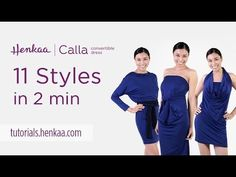 Calla Midi Convertible Dress - Henkaa