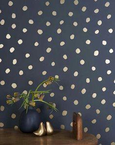 Polka Dot Wallpaper.