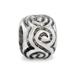 3cdf8cb24895 Pandora Large Swirls CLASSIC Charm Pandora Beads