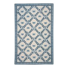 I pinned this Willow Rug in Blue from the Ruffles & Romance event at Joss and Main!