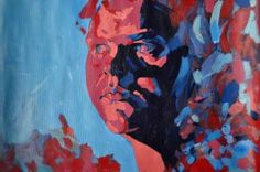 "Saatchi Art is pleased to offer the painting, ""Monica,"" by Monica Șchiopu. Original Painting: Acrylic on Canvas."