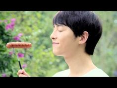 "SONG JOONG KI CF for ""enNature"" ham from 'Lotte food' July 2013"