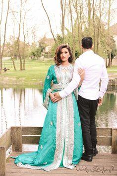 Collection Mariée Printemps-Eté 2014 par Hanane Lamgharraze pour Oriental Wedding  Photo ©Wafaa El Yazid