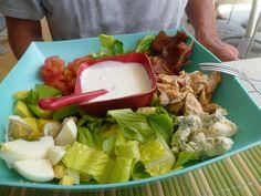 Cobb Salad, Vivian's Qubano, Isla Mujeres, Mexico