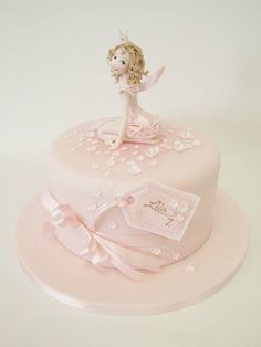 Girly cute cake