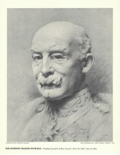Historical Image of Boy Scout Founder Sir Robert Baden Powell | eBay
