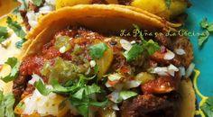 Tacos Con Sabor Al Pastor