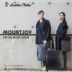 Stylish trolleys, luggage and travel accessories for young urban travellers. Move in Style with Leather Talks. A genuine leather strolley bag- Mountjoy that will surely make your next trip more amazing .#leatherstrolley #shoponline http://leathertalks.com/product/mountjoy/