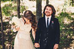 bride and groom, Wedding, Quiet Creek Inn, Idyllwild, California