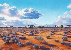 Australian Prints | Australian Landscape Artist & Outback Paintings | Australian Art Paintings |Prints Australian | Australian Landscape Painting