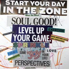 vision board words All About Vision, Creating A Vision Board, Images And Words, Psychology Today, Living A Healthy Life, Subconscious Mind, Positive Thoughts, Happy Life, Yoga Pants